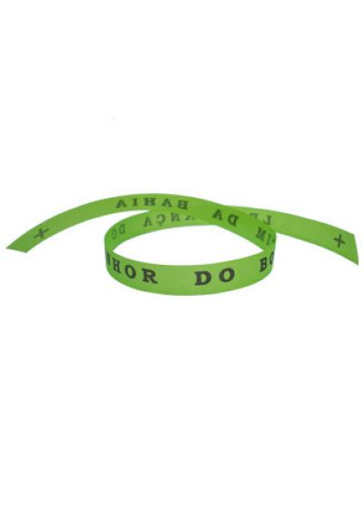 Senhor do Bonfim wish ribbon Limao